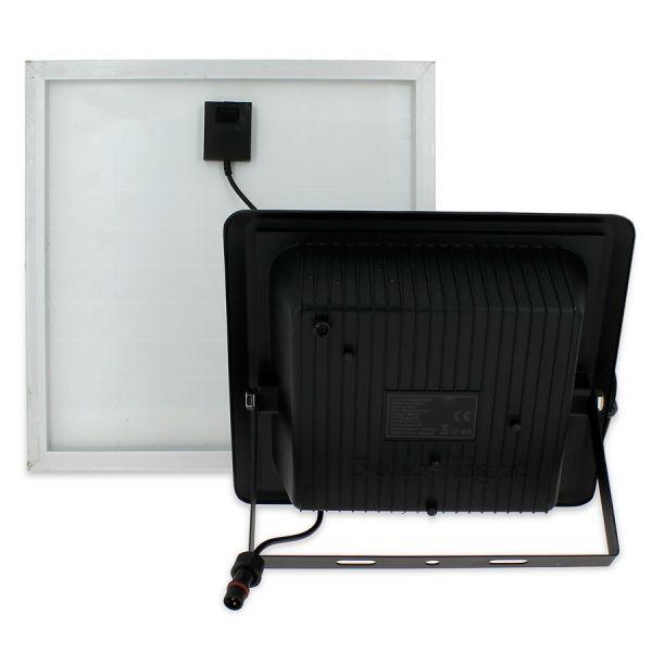 Projecteur Solaire 20W avec son Panneau Solaire et Télécommande 4000K