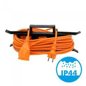 Rallonge électrique 15 mètres Orange IP44