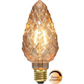 Ampoule LED E27 POMME DE PIN Ambrée Dimmable
