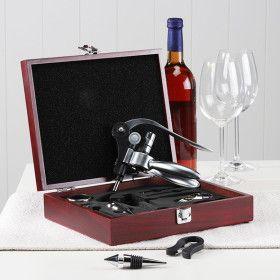 Coffret Luxe 10 accessoires Vin