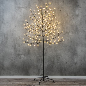 Cerisier lumineux 180 LED 1M50 blanc chaud