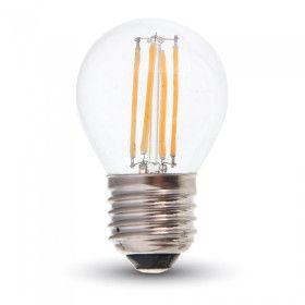 Ampoule LED E27 4W G45 (Balle de golf) Eq 40W