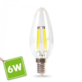 Ampoule LED E14 6W Eq 60W Filament