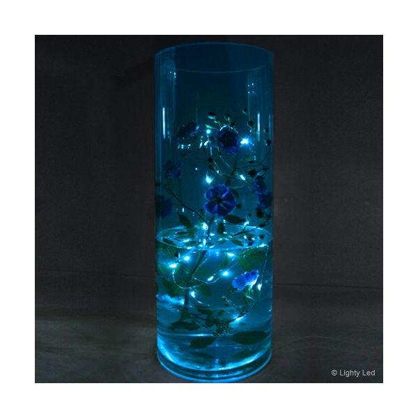 Guirlande submersible led bleue
