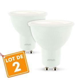 Lot de 2 Spots GU10 LED 5W