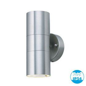 Applique YUCATAN INOX extérieur double faisceau GU10 IP54