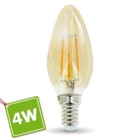 Ampoule E14 4W Ambrée