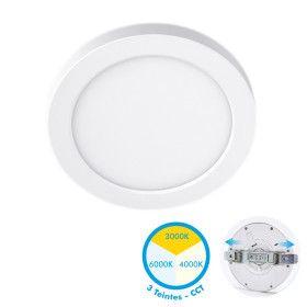 Plafonnier LED Saillie ajustable 18W CCT 3 Teintes