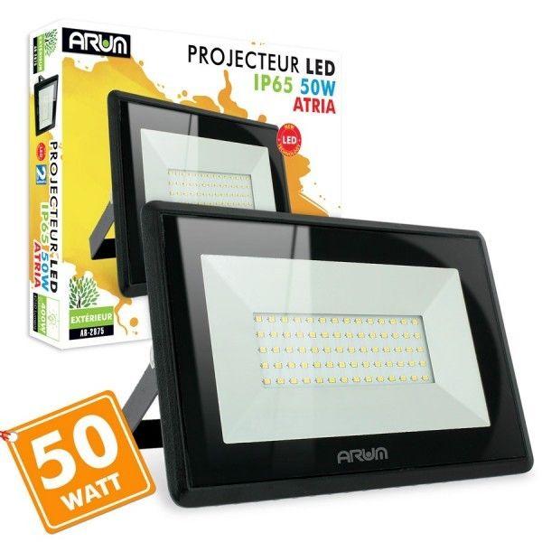 Projecteur LED 50W Forte luminosité 4250 Lumens