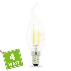 Ampoule Led Flamme E14 4W filament