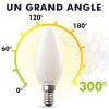 AMPOULE LED E14 4W 2700K