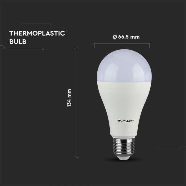 Bombilla LED RETROFIT E27 15W blanco cálido