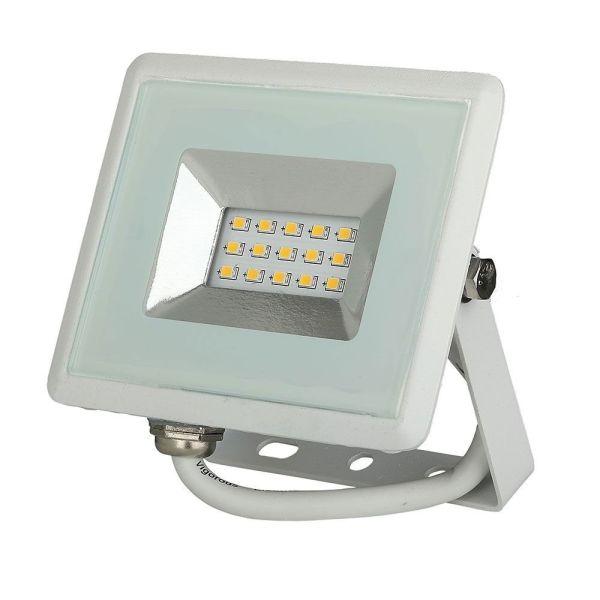 Projecteur LED Boitier blanc 10W 850 Lumens IP65 de V-TAC