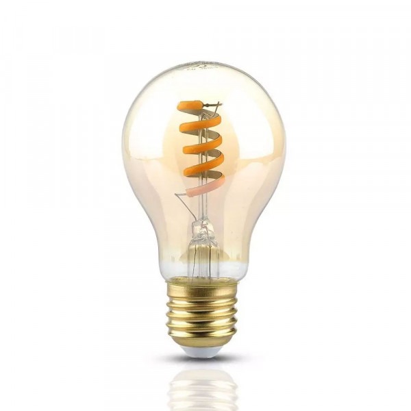 Ampoule Ambrée Vintage E27 4W Filament 2200K