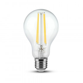 Ampoule LED E27 A70 12,5W Filament 3000K Blanc Chaud
