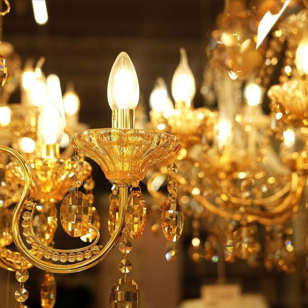 Ampoule LED E14 4W filament blanc chaud