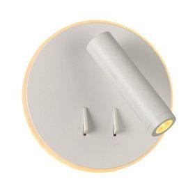 Applique Liseuse LED EMY Blanche12W Blanc Chaud