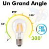 Ampoule LED E27 4W Filament Equiv 40W Blister