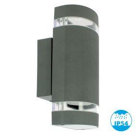 Applique TORRE Noir Extérieur double faisceau GU10 IP54