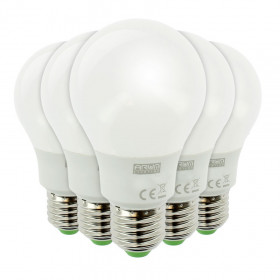 Lot de 5 Ampoules LED E27 11W 1055 Lumens