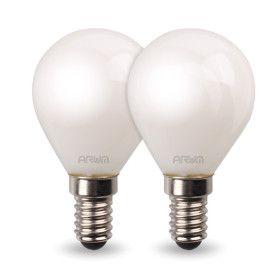 Lot de 2 Ampoules LED 4,5W E14 LED P45