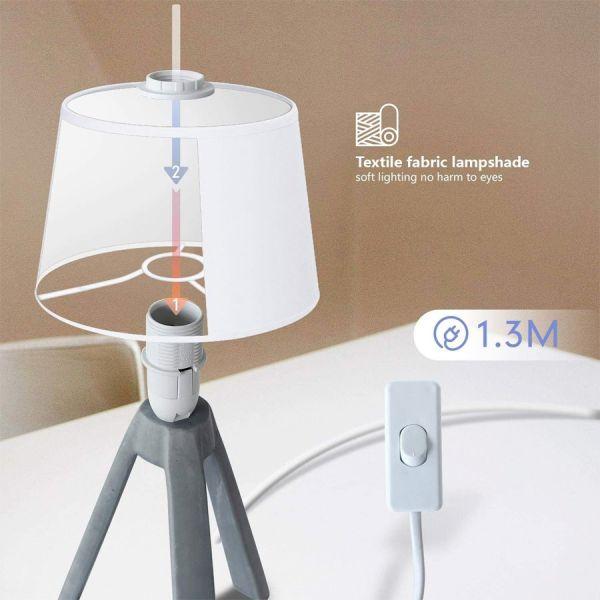Lampe de Table en résine E14 31cm