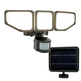Projecteur solaire noir 15W LED 1000 lumens Multi- Angles