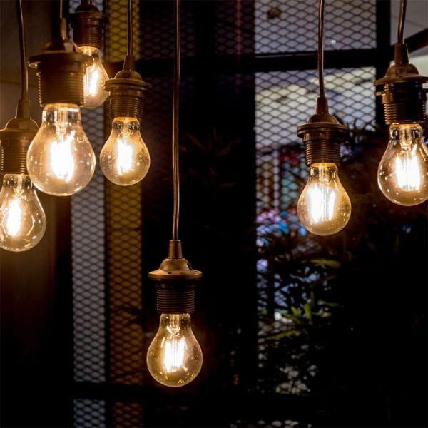 Ampoule LED Filament 8W E27 Blanc Chaud - 2300k
