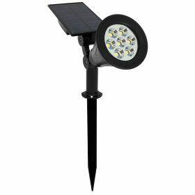 Spot Piquet solaire 4W 270 Lumens blanc chaud