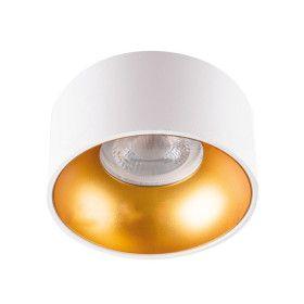 Spot GU10 MINI RITI Design Blanc-Doré