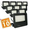 Lot de 10 Projecteurs LED Extérieur 50W Forte luminosité STRONG P65