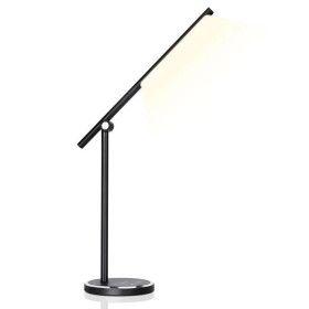 Lampe de bureau LED Noire 8W Dimmable 5 Teintes