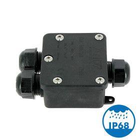 Boitier d'Interconnexion Étanche 3 Voies IP68