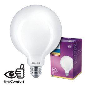 Ampoule LED E27 G120 7W Verre Opaque Equi. 60W