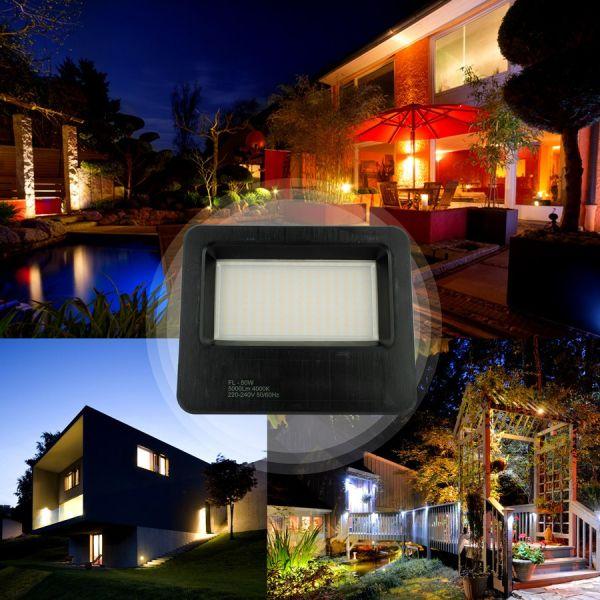 Lot de 2 Projecteurs LED Extérieur 30W Forte luminosité 2700 Lumens de IP65