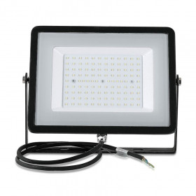 Projecteur LED 100W 8000 Lumens NOIR IP65 extérieur