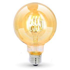 Ampoule LED E27 G95 4,5W Ambrée Filament Déco Vintage