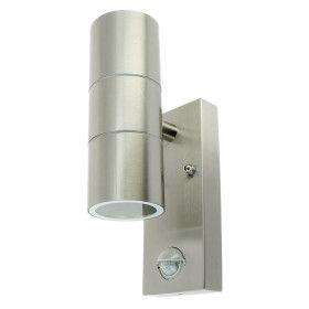 Applique extérieur inox 2xGU10 Avec détecteur IP44