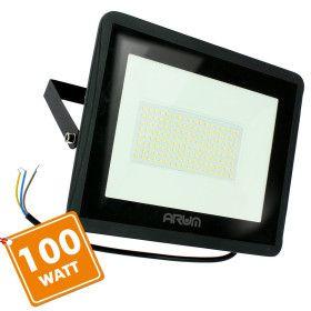 Projecteur LED ATRIA 100W NOIR 10 000 Lumens IP65 extérieur