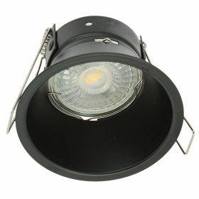 Support Plafond Fixe Noir KINGDOM GU10/MR16 Basse Luminance