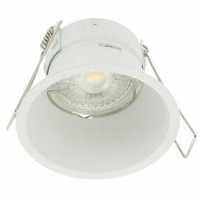 Support Plafond Fixe Blanc KINGDOM GU10/MR16 Basse Luminance