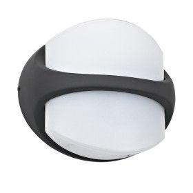 Applique murale LED Extérieure KAFFA 12W IP44 Blanc Chaud