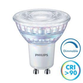 Ampoule LED GU10 Dimmable CRI90 6.2W 5750 Lm Eq 80W MASTER