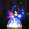Ampoule LED E27 DISCO 3W RGB Rotatif 360°