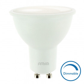 Spot LED GU10 7W Dimmable 500 Lm Equi. 50W