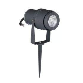 Spot Piquet de Jardin LED 12W Noir 720 LM Boitier gris