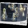 Ghirlanda decorativa 10 micro lampadine a LED