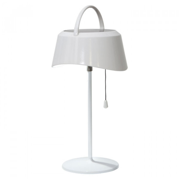 Lámpara de mesa LED solar exterior Blanco cálido