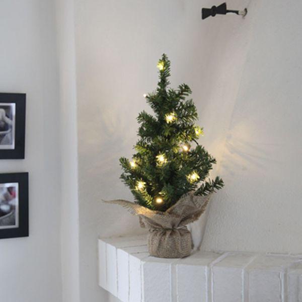 Árbol de Navidad LED con su bolsa