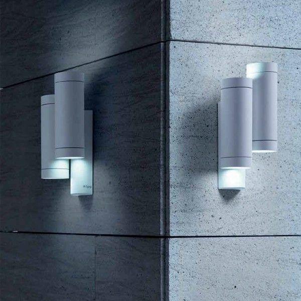 STEPS lampada da parete doppia bianca GU10